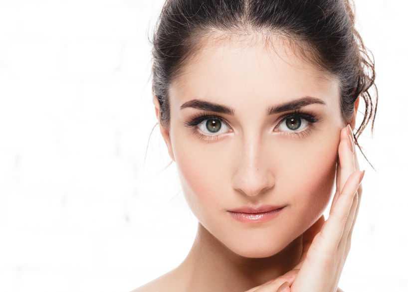 beauty and spa female model